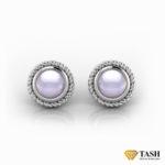 Moonstone Twisted Earrings