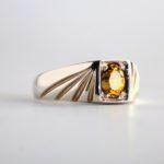 Yellow Tourmaline Ring 2