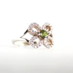 Tourmaline Flower Ring 1