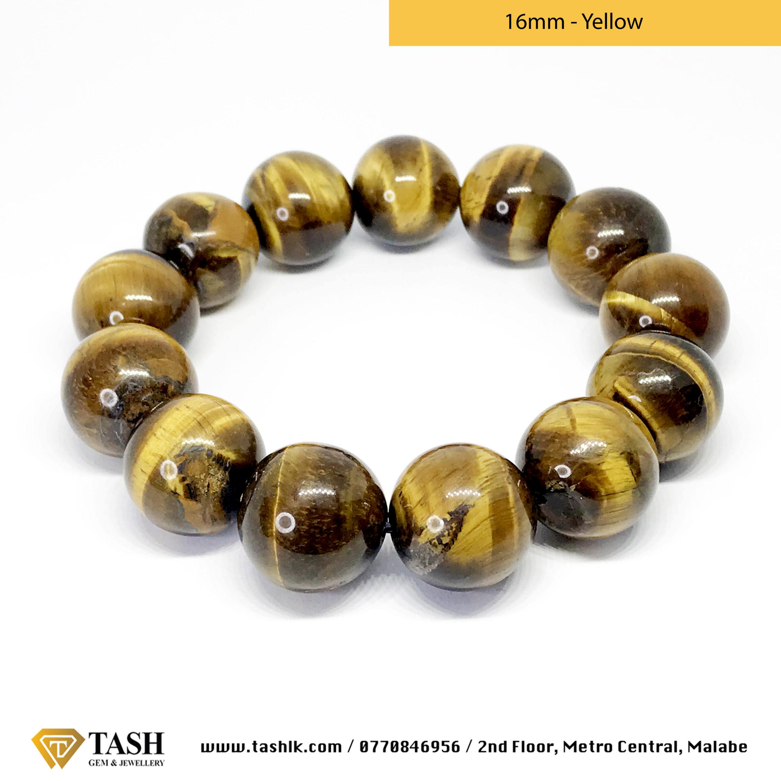 Tigers Eye Bracelet – Yellow 6