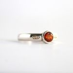 Brilliant Hessonite Garnet Ring 2