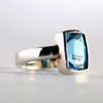 Blue Topaz Ring 2