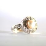 Tash Pearl Engagement Ring 2