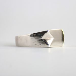 Solid Silver Ring For Gents