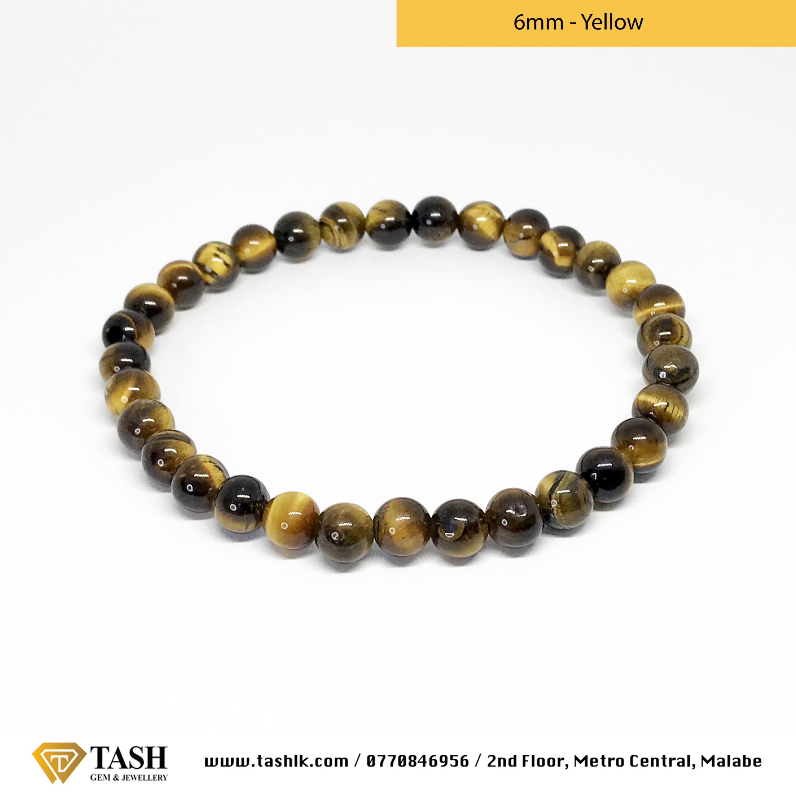 Tigers Eye Bracelet - Yellow