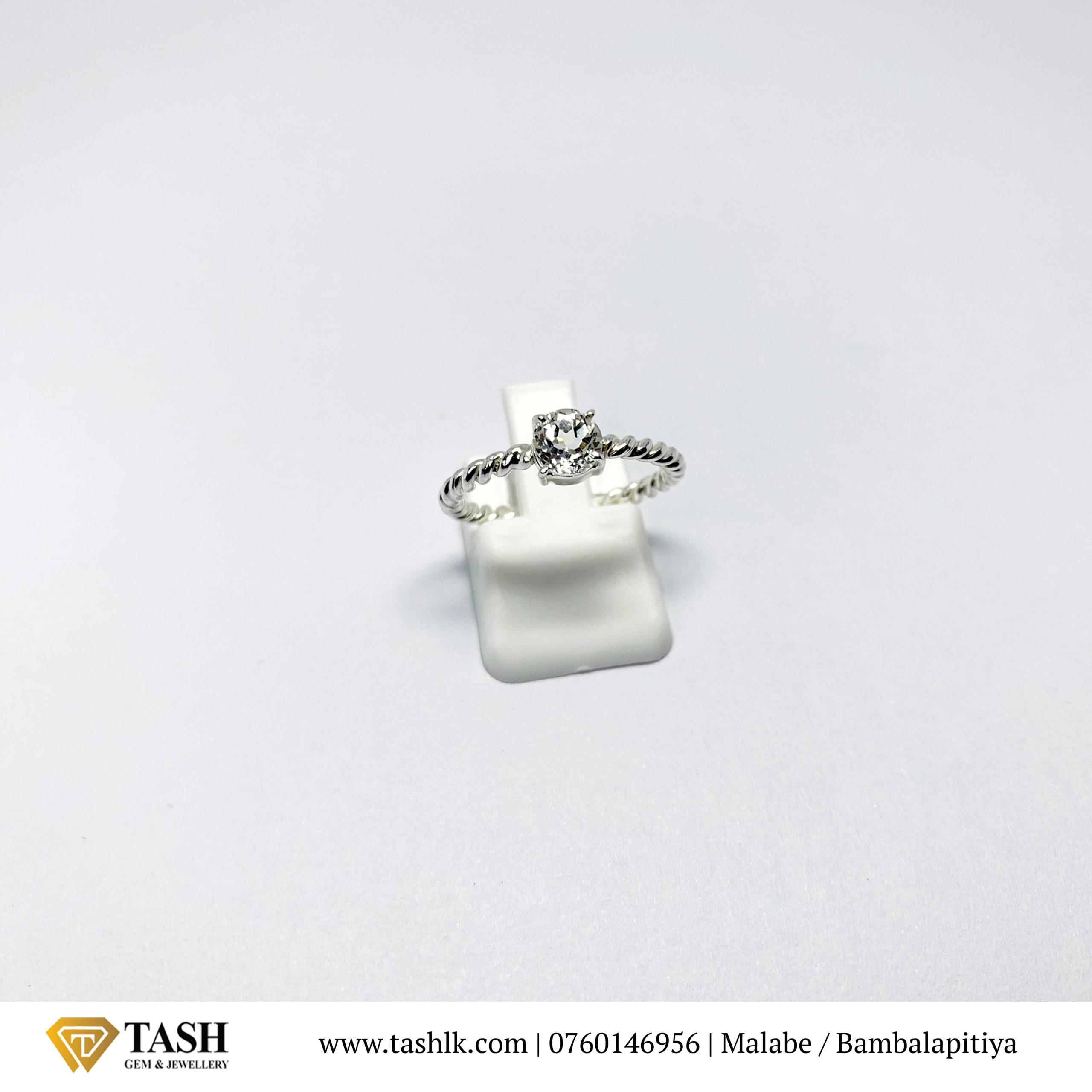 White Topaz Ring 1