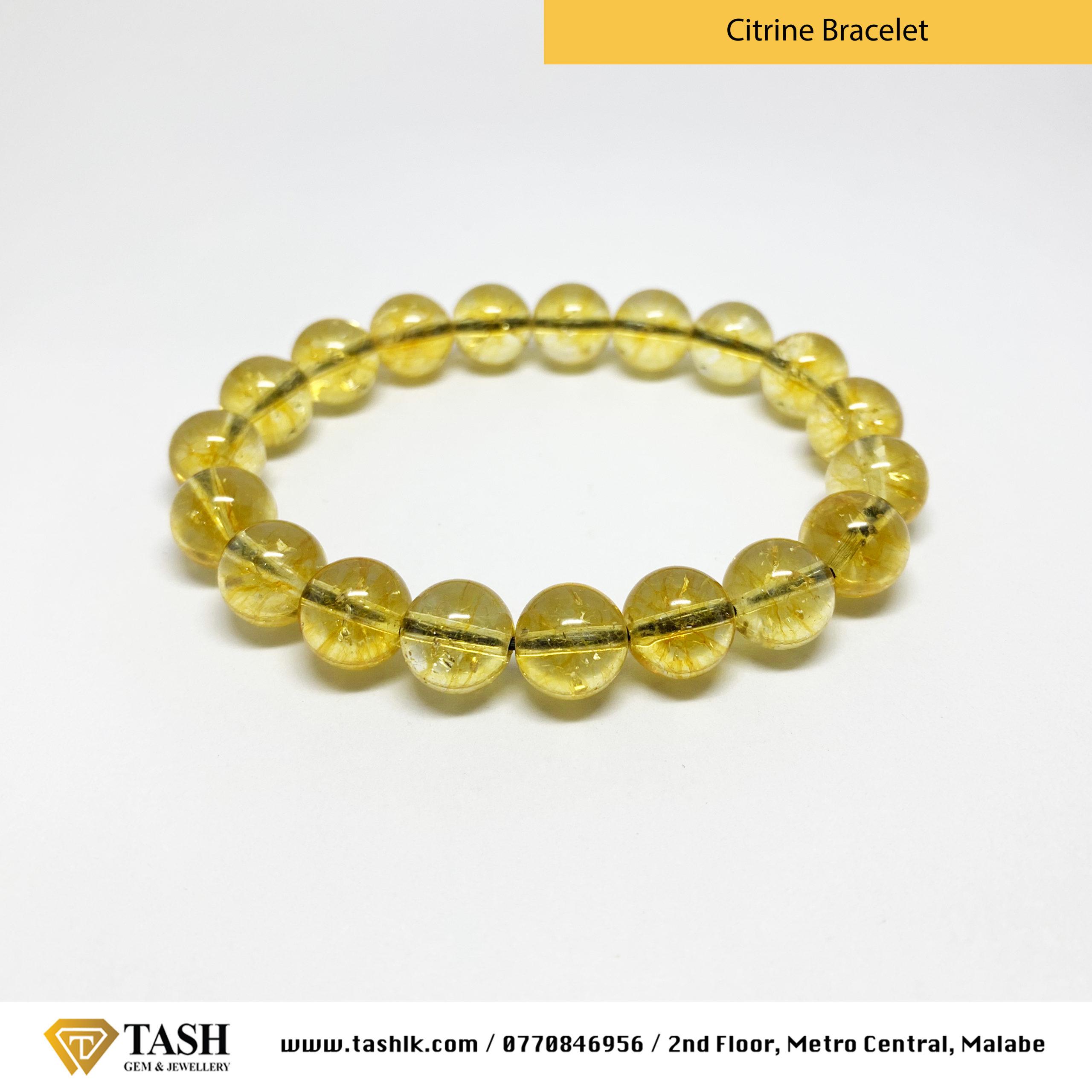 Citrine Bracelet 1