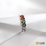 Multicolored Stones Ring
