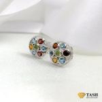Multicolored Stones Earrings
